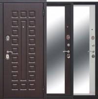 Дверь металлическая Монарх зеркало