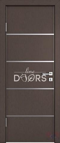 Дверь межкомнатная пвх ДГ-505 Бронза