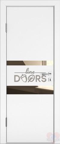 Дверь межкомнатная ДО-512 Белый бархат