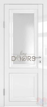 Дверь межкомнатная Белый глянец ДО-ПГ2