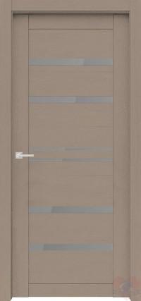 Дверь Велюкс 01 Soft touch Ясень латте