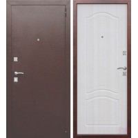 Дверь металлическая Гарда Доминанта Белый ясень