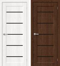 Дверь межкомнатная эко Мода-22 Black Line