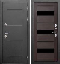 Дверь металлическая Изотерма Темный кипарис