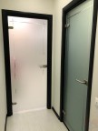 Стеклянная дверь Изабелла - Сатинато Белое
