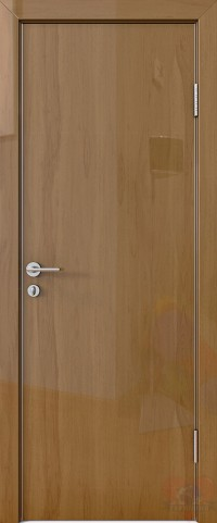 Дверь межкомнатная пвх ДГ-500 Анегри тёмный глянец