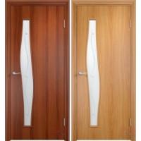 Дверь ламинированная 4С6Ф - остекленная