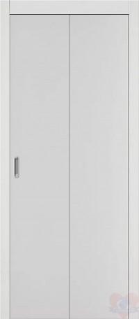 Складная ламинированная дверь книжка Гост Л-23 Белый