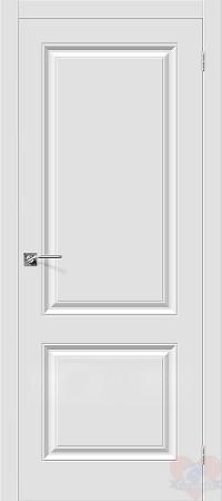 Дверь межкомнатная пвх Скинни-12 белая