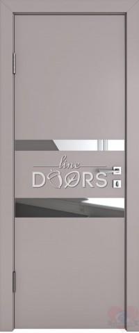 Дверь межкомнатная ДО-512 Серый бархат