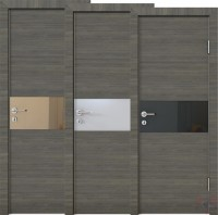 Дверь межкомнатная пвх ДО-501 Ольха темная