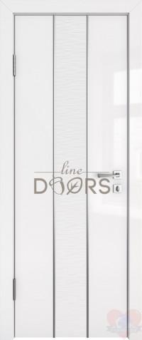 Дверь межкомнатная Белый глянец Герда ДГ
