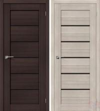 Дверь межкомнатная экошпон Порта-22 Black Star