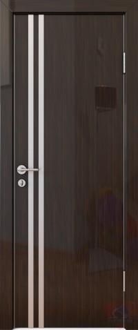 Дверь межкомнатная пвх ДГ-506 Венге глянец