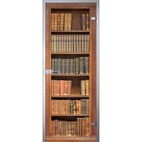 Межкомнатная стеклянная дверь Книги