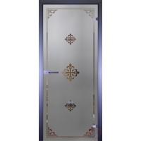 Дверь стеклянная межкомнатная Mirra - Рамка-2