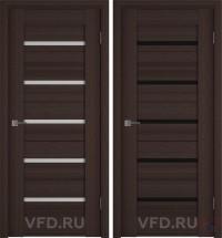 Дверь межкомнатная экошпон Line-1 Венге