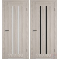 Дверь межкомнатная экошпон Line-2 Капучино