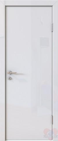 Дверь межкомнатная пвх ДГ-500 Белый глянец