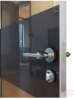 Дверь межкомнатная пвх ДО-508 Венге глянец - Зеркало бронза