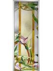 Стеклянная дверь Stained Glass-04 матовое бесцветное