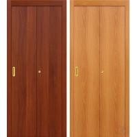 Складная ламинированная дверь книжка Гост орех