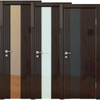 Дверь межкомнатная пвх ДО-504 Венге глянец