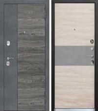 Дверь металлическая Орландо Дуб винтаж белый