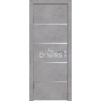 Дверь межкомнатная пвх ДГ-505 Бетон светлый