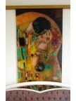 Стеклянная дверь фотопечать с подложкой Климт - Стекло прозрачное