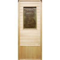Дверь для сауны липа - Изба