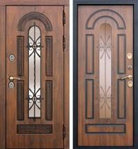 Дверь металлическая VIKONT-VITRA термо