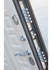 Дверь металлическая Изотерма-11 - панель Лиственница мокко