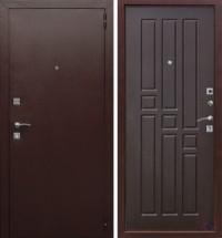 Дверь металлическая Гарда mini Венге