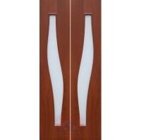 Складная межкомнатная дверь С10-ДО