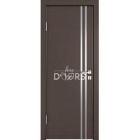 Дверь межкомнатная пвх ДГ-506 Бронза