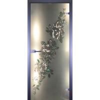 Дверь стеклянная межкомнатная Диагональ