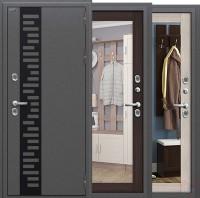 Дверь металлическая Термо Bravo T 111.Б15 с зеркалом