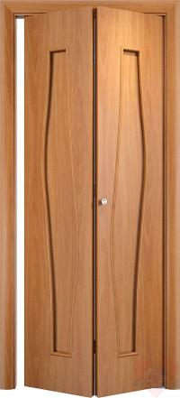 Складная межкомнатная дверь книжка С10-ДГ