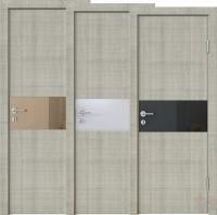 Дверь межкомнатная пвх ДО-501 Серый дуб