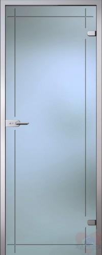 Дверь стеклянная межкомнатная Изабелла
