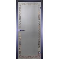 Дверь стеклянная межкомнатная Mirra - Орнамент