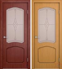 Дверь межкомнатная шпонированная Каролина-В ДО