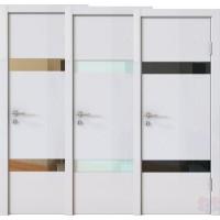 Дверь межкомнатная пвх ДО-502 Белый глянец