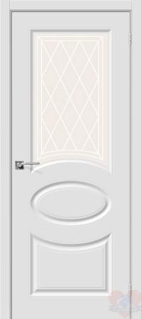 Дверь пвх Скинни-21 белая