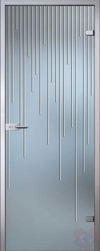 Дверь стеклянная межкомнатная Юлиана
