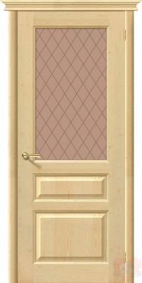 Дверь из массива сосны М-5 ДО без отделки