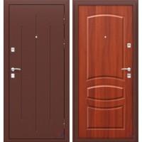 Дверь металлическая Стройгост 7-2 Итал.орех