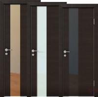 Дверь межкомнатная пвх ДО-504 Венге поперечный