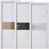 Дверь межкомнатная пвх ДО-501 Белый глянец
